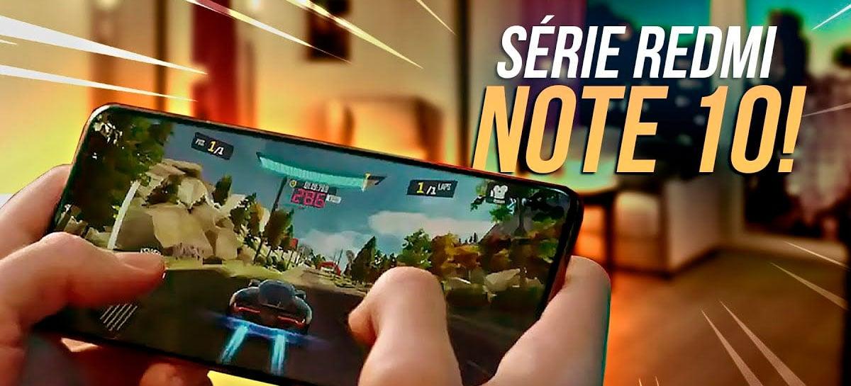 Xiaomi REDMI Note 10 anunciado! Confira PREÇOS e ESPECIFICAÇÕES das versões globais