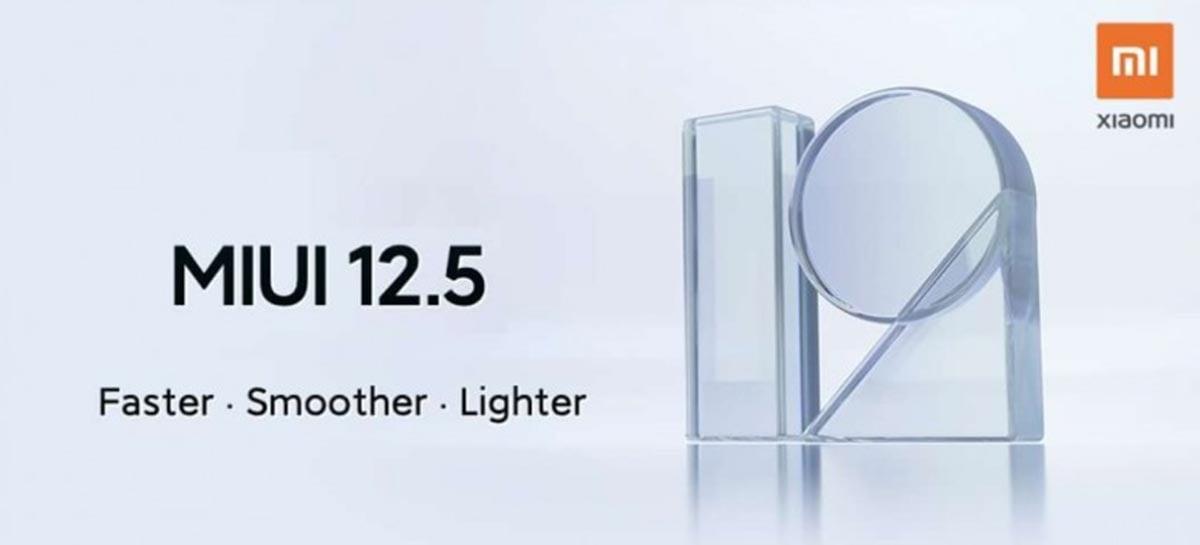Xiaomi revela quando modelos da Mi, Redmi e POCO receberão a MIUI 12.5