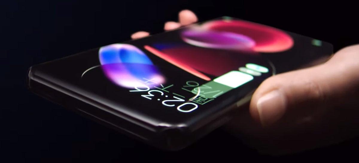 Xiaomi mostra celular com tela curvada dos quatro lados em novo conceito Waterfall