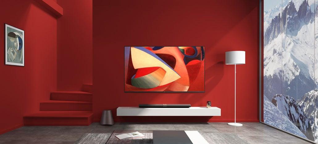 Xiaomi apresenta a Mi Mural TV 4K, tão fina que pode ser confundida com um quadro