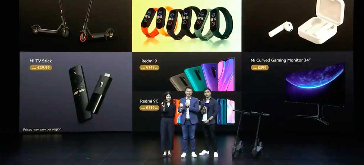 Evento da Xiaomi revela Mi Smart Band 5, Mi TV Stick, monitor gamer e mais