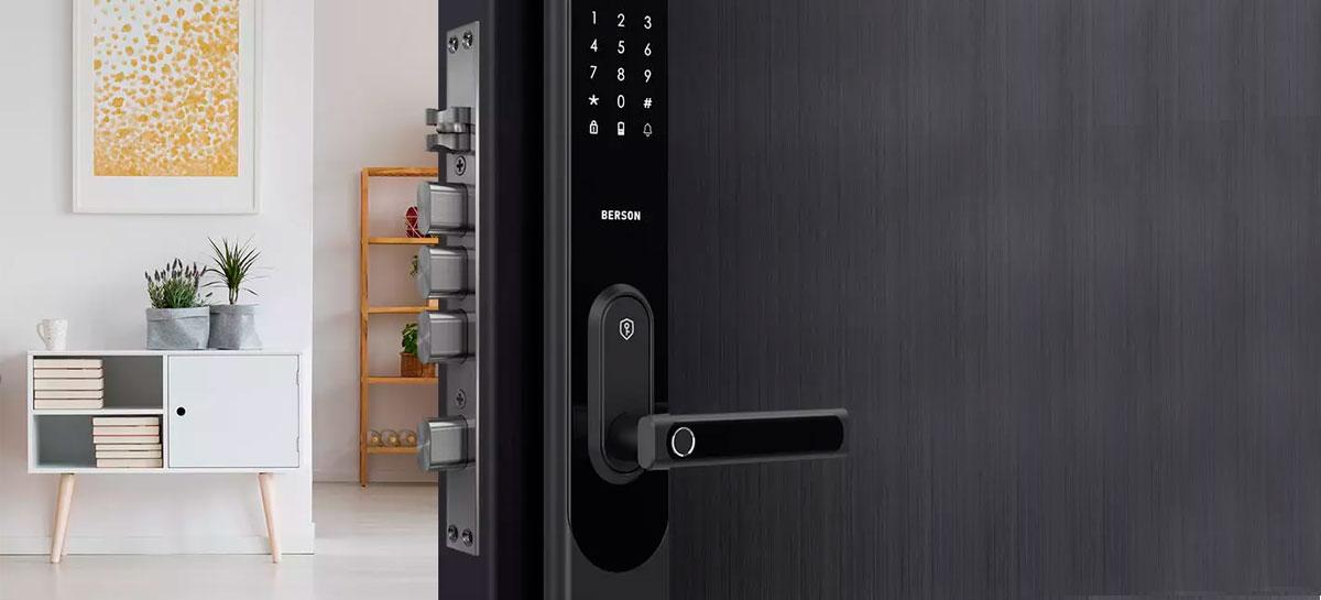 Xiaomi anuncia financiamento coletivo para fechadura A-Link Smart Door Lock
