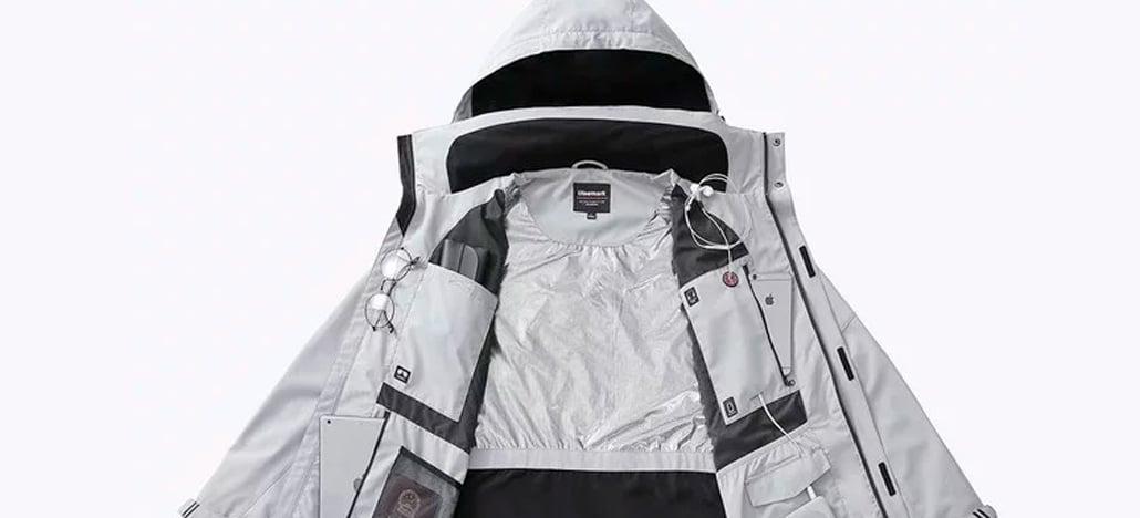 Xiaomi financia jaqueta multifuncional para viagens, com 12 bolsos e travesseiro inflável