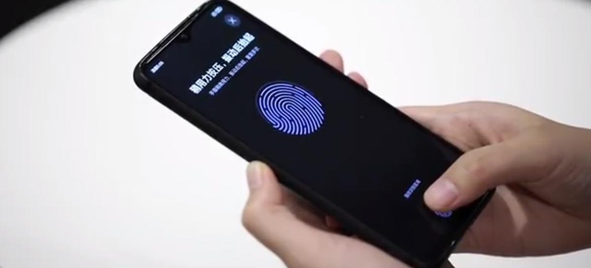 Xiaomi implementa primeiro leitor biométrico sob tela LCD