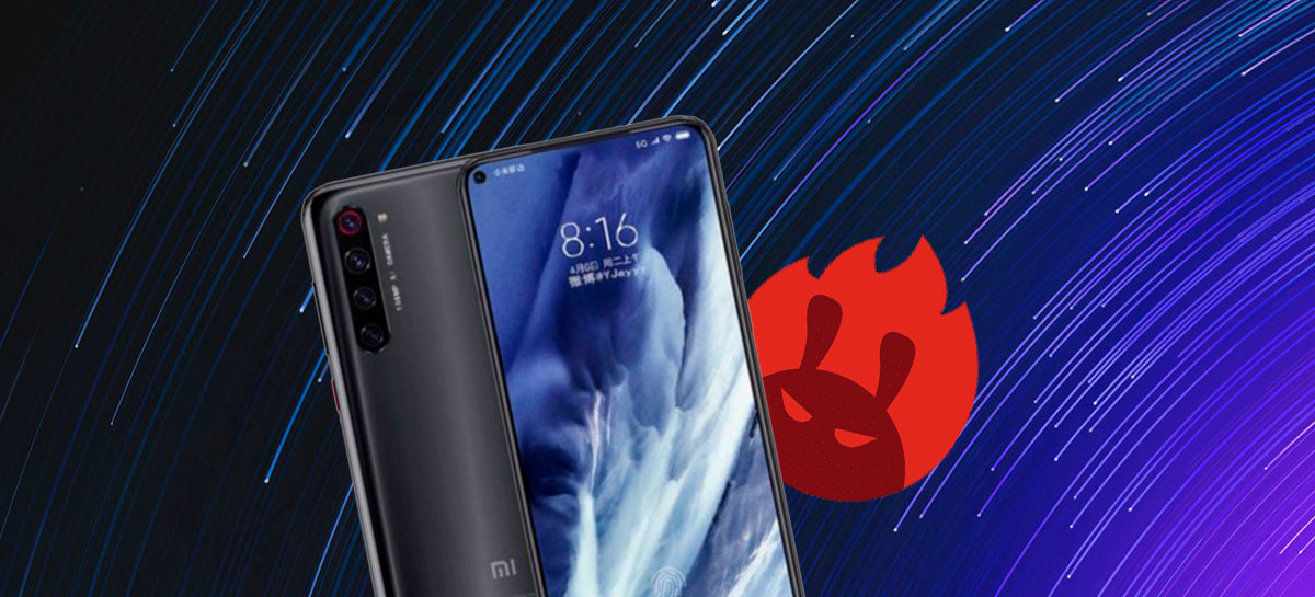 Xiaomi Mi 10 rompe a marca dos 560 mil pontos em recente teste vazado no AnTuTu