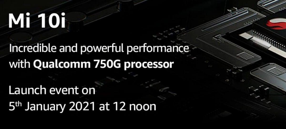 Xiaomi Mi 10i 5G terá SoC Snapdragon 750G e novo sensor de 108MP