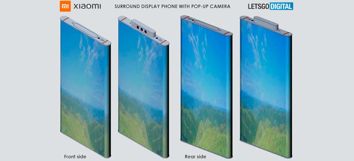 Xiaomi Mi MIX Alpha II pode ser composto apenas por tela na parte frontal e traseira