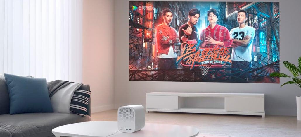Xiaomi lança Mi Home Projector Lite com ampliação de tela de 40 até 200 polegadas