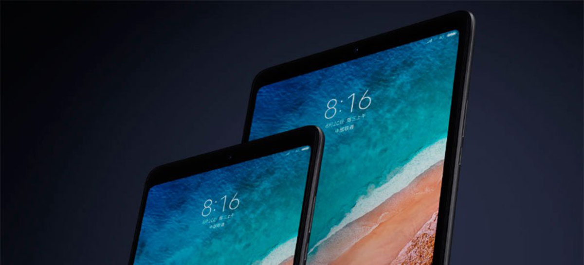 Xiaomi pode lançar três novos tablets, incluindo um com chip Snapdragon 860