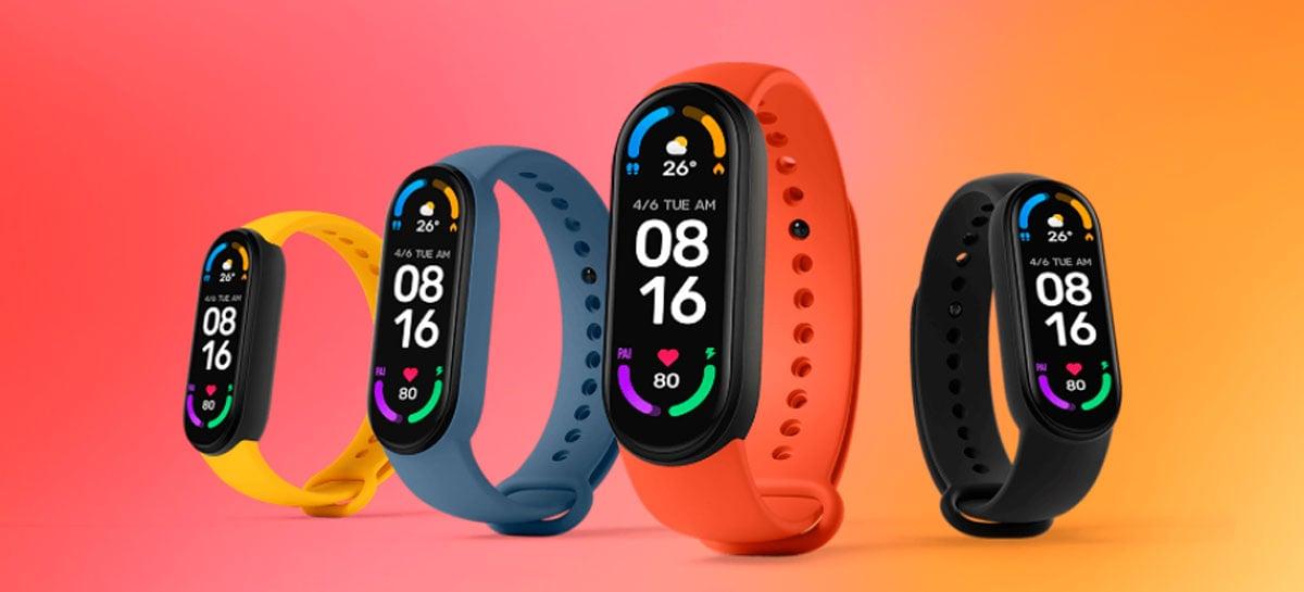 Xiaomi Mi Smart Band 6 chega ao Brasil por R$ 699,99