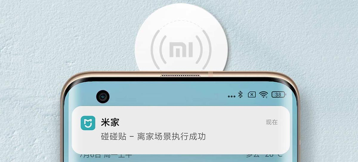 Xiaomi põem NFC Touch Sticker 2 a venda por US $ 3
