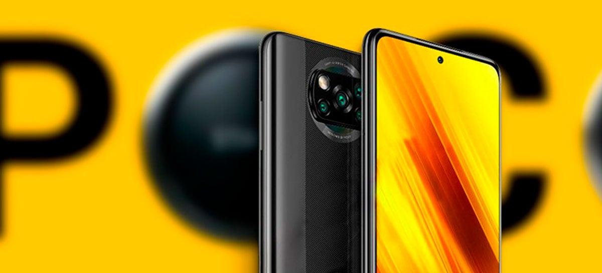Xiaomi Poco X3 chega no Brasil por a partir de R$ 3.000
