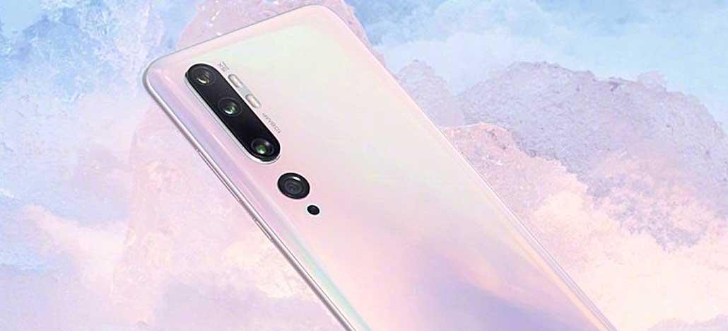 Xiaomi Mi CC9 Pro (Mi Note 10) é apresentado com penta-câmera e sensor de 108MP