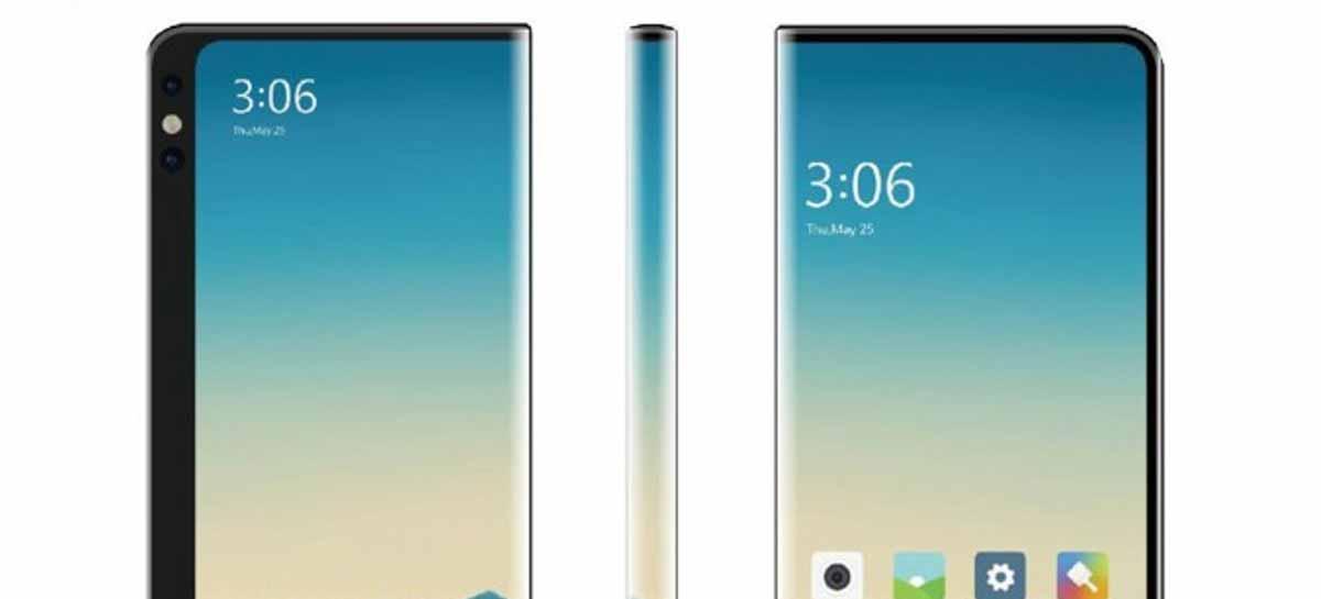 Xiaomi registra patente de smartphone com tela frente e verso
