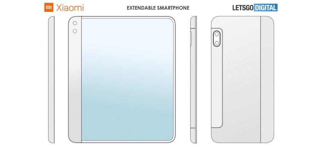 Xiaomi registra patente de smartphone com tela extensível