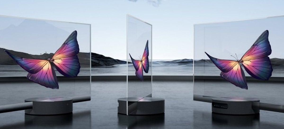 Xiaomi revela como sua smart TV transparente é fabricada