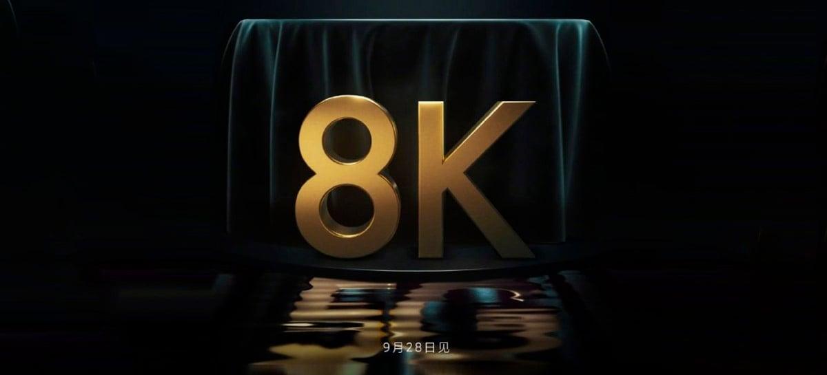Xiaomi Mi TV LUX Ultra 8K com conexão 5G e painel mini-LED chega dia 28 de setembro