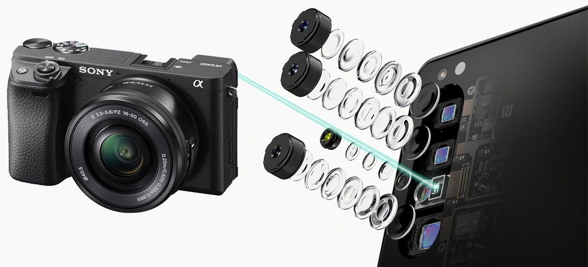 Sony mostra em detalhes câmera do Xperia 1 II baseadas nas mirrorless Alpha