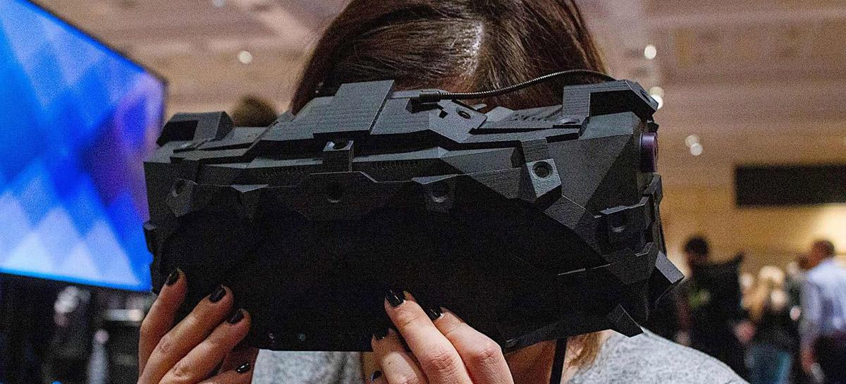 Conheça os óculos de realidade virtual com resolução 8K desenvolvidos para a NASA