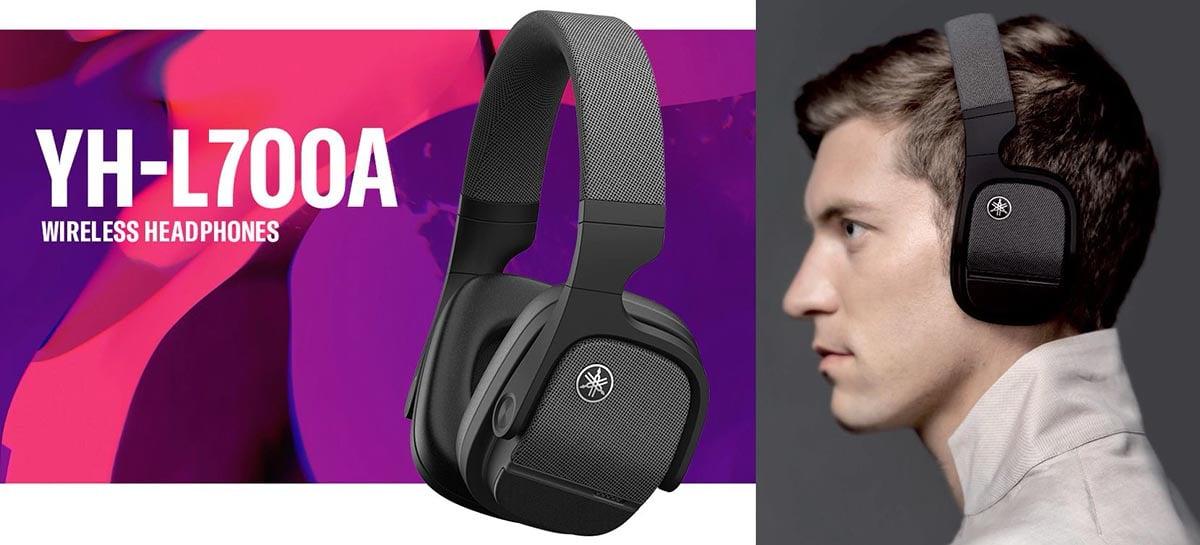 Yamaha YH-L700A é o novo headset wireless da empresa com áudio 3D