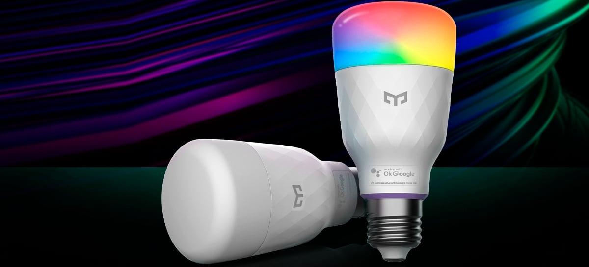Yeelight Smart LED Bulb M2 pode ser controlada por voz via Seamless Setup do Google Home