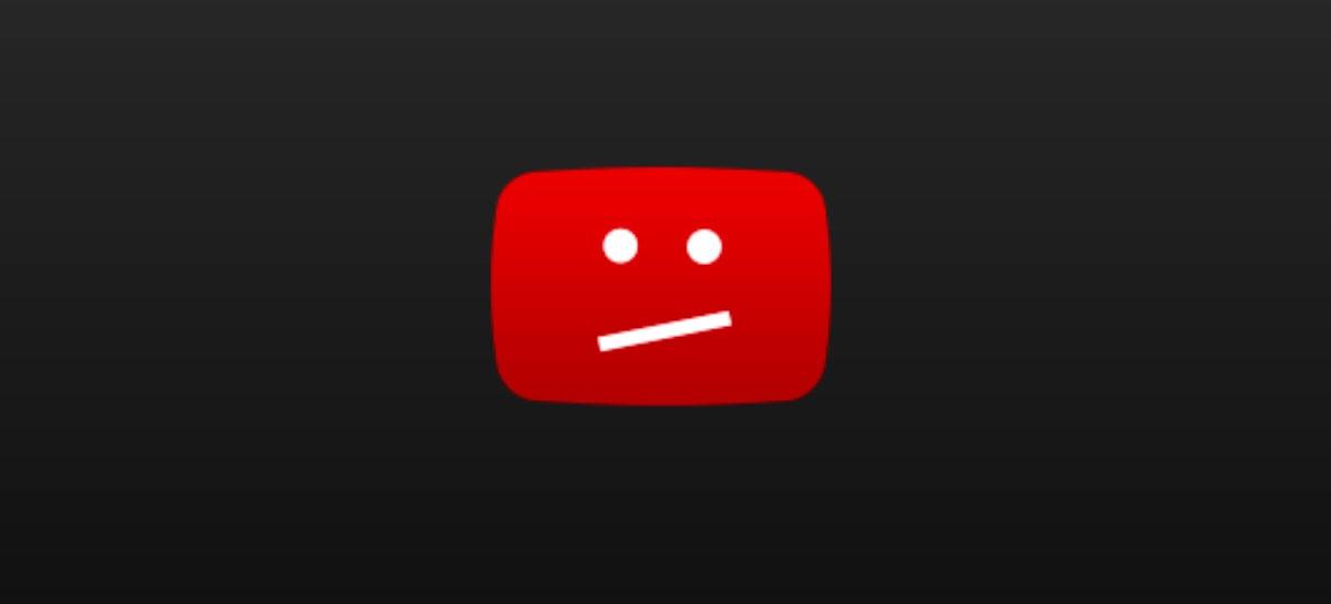 Não foi só com você: YouTube caiu na noite de quarta-feira por algumas horas