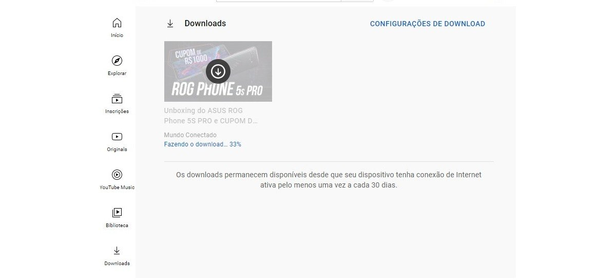 Finalmente YouTube permite fazer download de vídeos, apenas para alguns usuários