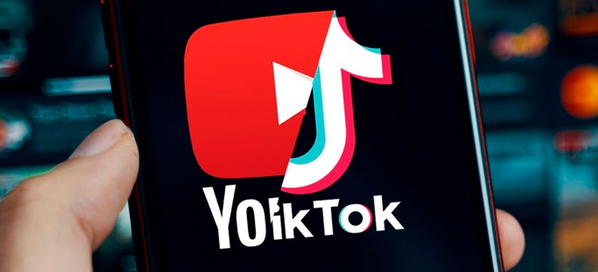 TikiTok ultrapassa YouTube em tempo médio de visualização de vídeos