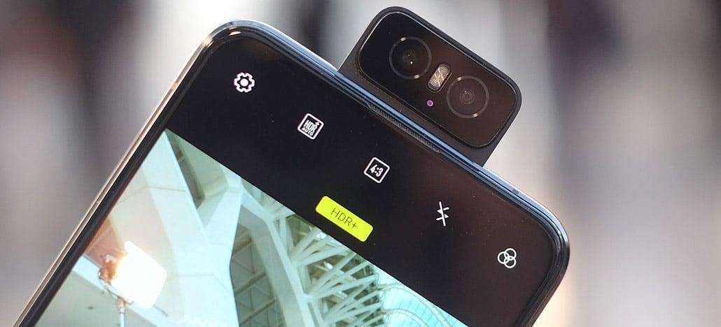 Oppo registra patente de câmera flip muito parecida com a do ZenFone 6
