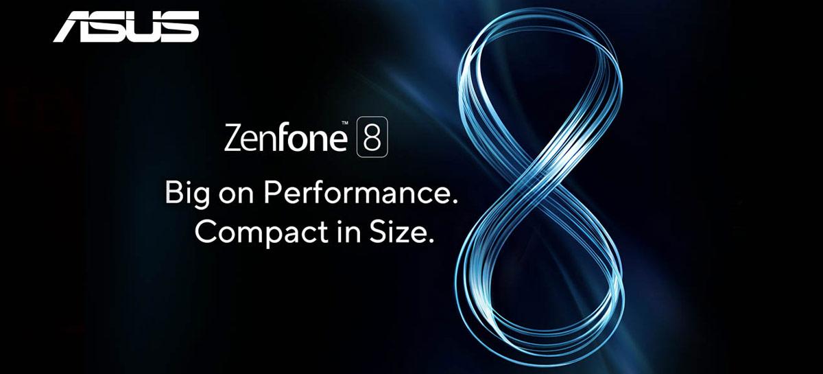 Teaser do Zenfone 8 mostra câmera frontal em furo no display