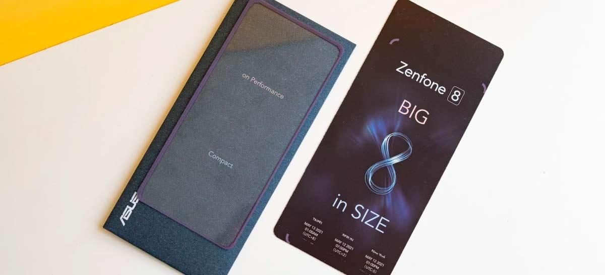 """ASUS apresentará ZenFone 8 em 12 de maio com versão """"Mini"""""""