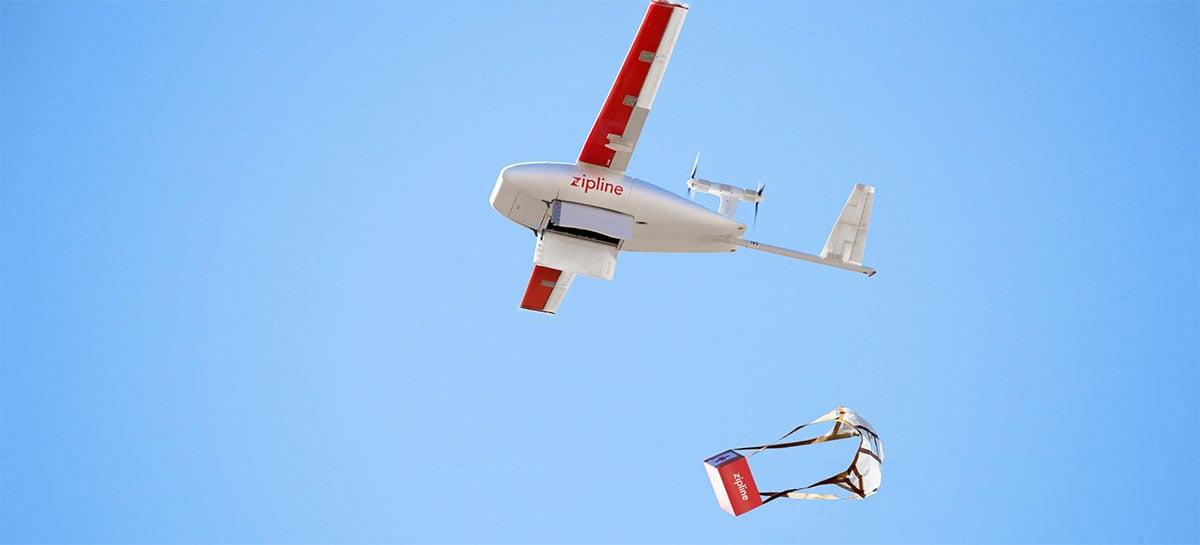 Entregas com drones nos Estados Unidos são aceleradas por conta do COVID-19