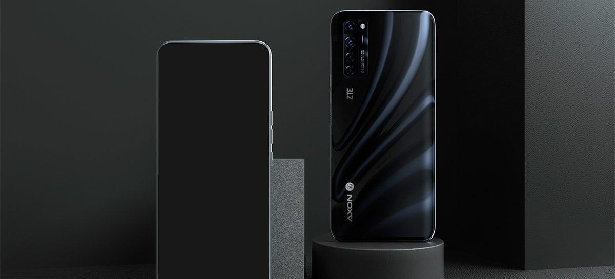 Câmera selfie embaixo da tela do ZTE Axon 20 5G é uma decepção para o DXOmark