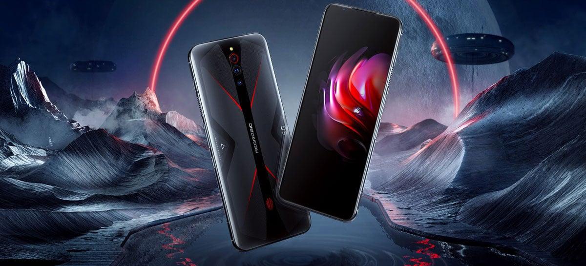 RedMagic 5G Eclipse Black com 12GB RAM terá lançamento global por US$ 599